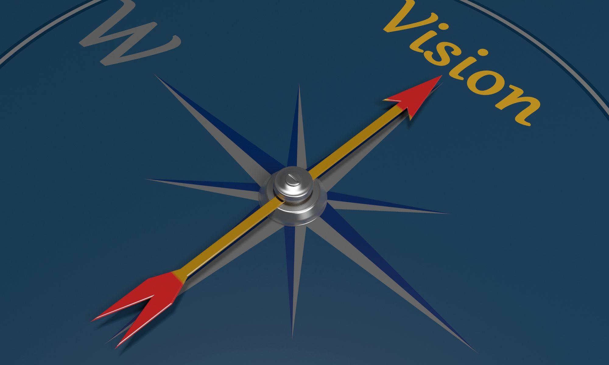 Stylized compass