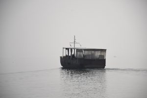 Boat on the Sea of Galilee