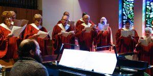St. Mark's choir