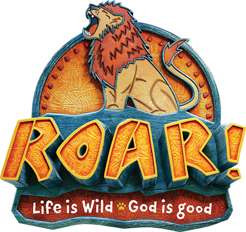Vacation Bible School lion logo