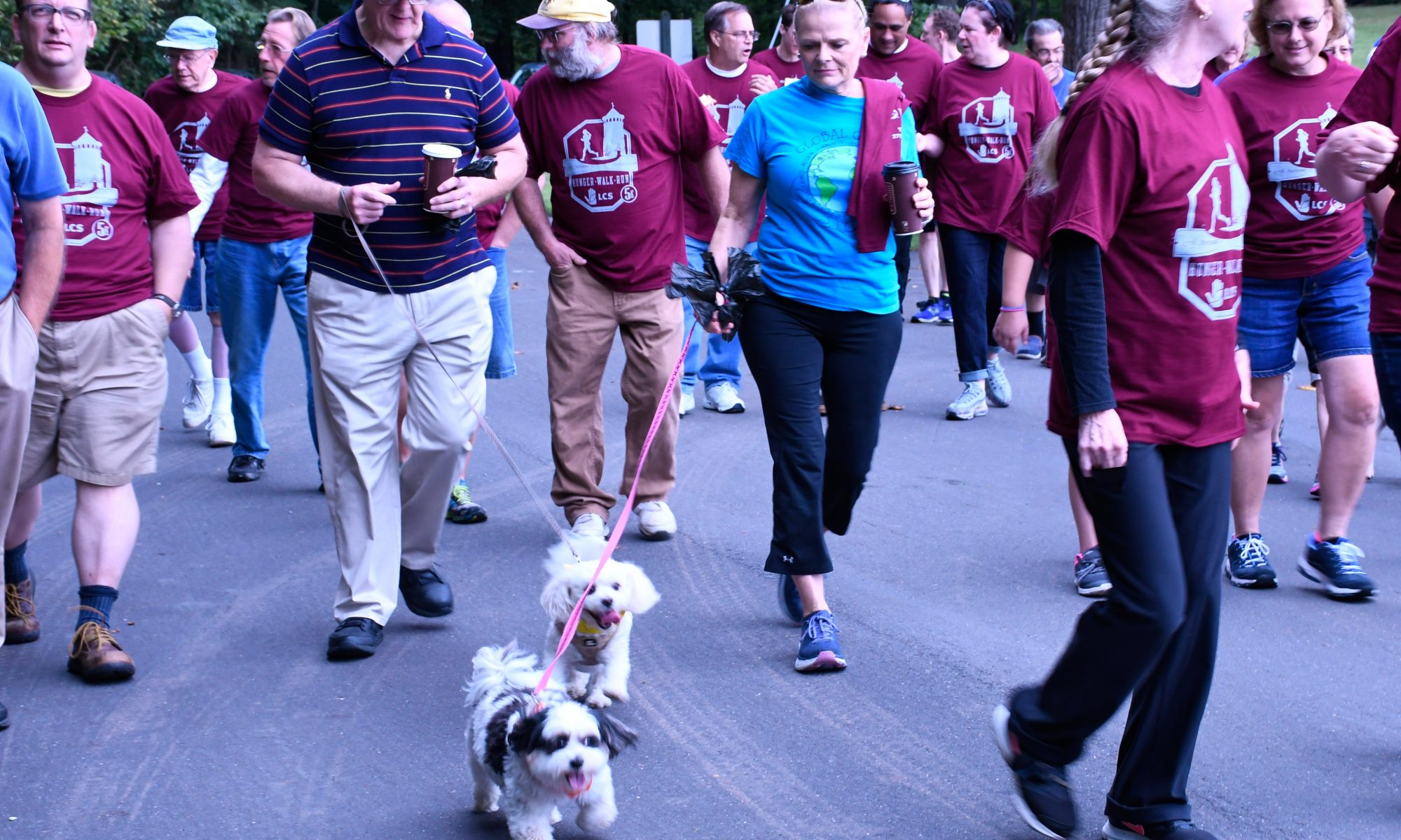 A group of walkers during the 2018 event.