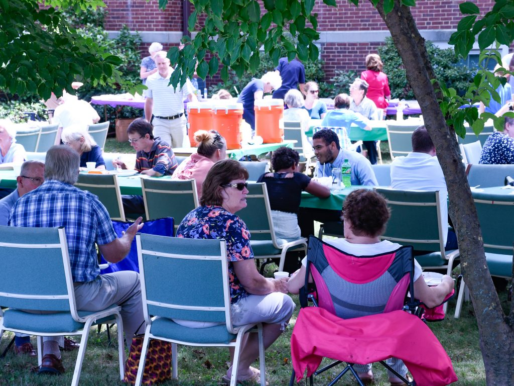 Shot of 2018 picnic