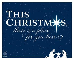 A special message: This Christmas there is a place for you here