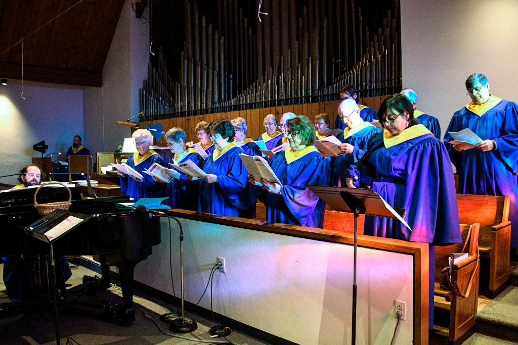 Choir in the loft