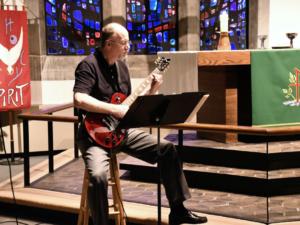Wayne Smiley on guitar