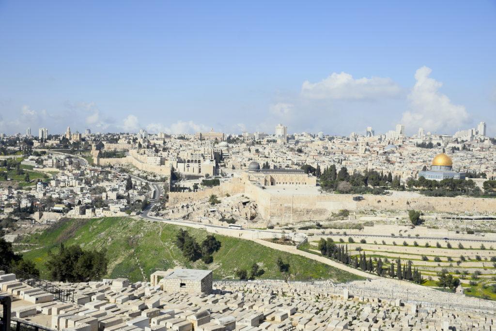 Jerusalem2018 from the Mt of Olives