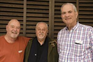 Pastor David Mueller, the Rev. Dr. Kamal Farah and Rabbi Peter Grumbacher