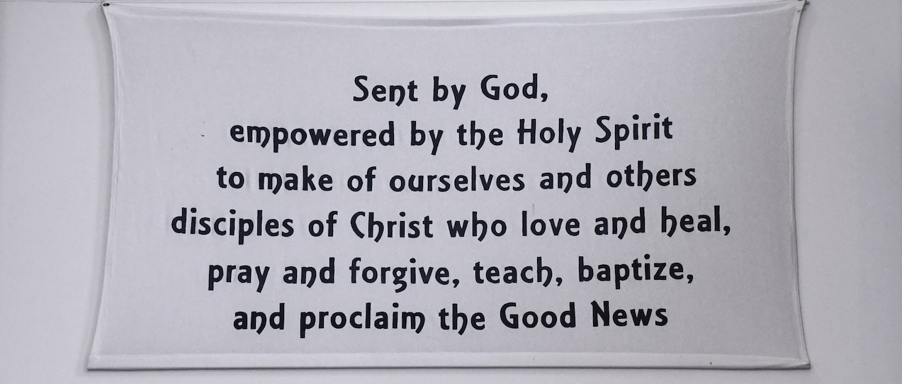 Sent by God banner